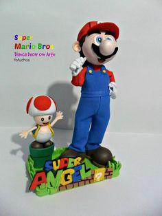 Super Mario Bros Son geniales para la decoración de mesa