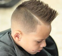 Stylish Baby Boy Haircuts To Make Your Kids So - Kinderfrisuren Boys Haircuts 2018, Trendy Boys Haircuts, Cute Little Boy Haircuts, Black Boys Haircuts, Toddler Boy Haircuts, Cute Little Boys, Cool Haircuts, Little Boy Mohawk, Boys Mohawk
