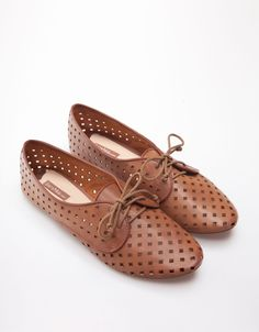Bershka Kuwait - Bershka crochet derby shoes