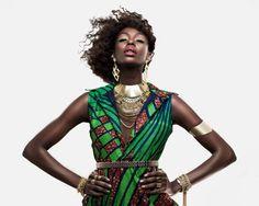 Kinshasa Fashion Week returns on 18th-20th of July // Face of Kinshasa FW is Congolese Model Tessy Katanga