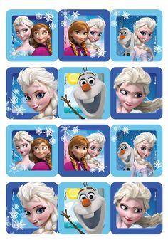 Frozen na fondáne12 ks