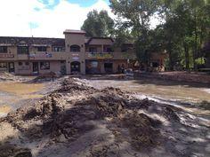 Historic flood 2013 Estes Park