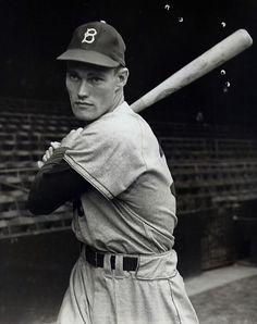 "Chuck Connors (""Rifleman""),  Brooklyn Dodgers."