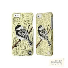 Chickadee Crystal iPhone 5 Case