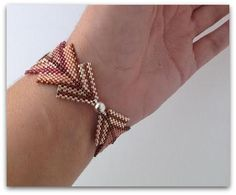 This is a listing for a tutorial, you will not receive the jewelry pictured above. After Etsy receives confirmation of payment for your order, you will be able to download your order from your receipt in the Your Purchases section on Etsy  This full color 48 pages tutorial will show you how to weave this bracelet. This document is a PDF file includes step by step computer diagrams for those who are visual learners with detailed text, and a picture of the finished project, easy to understand…