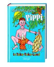 """Pippi in Taka-Tuka-Land. Pippi ist voller Vorfreude: Kapitän Langstrumpf kommt mit der """"Hoppetosse"""", um Pippi auf die Taka-Tuka-Insel zu holen."""