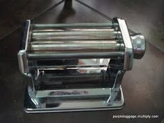 purpleluggage: how to clean your pasta machine~
