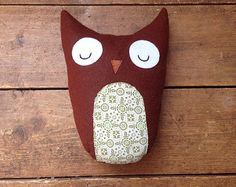 Owl toy decoration forest woodland friend
