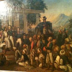 raden saleh painting at national gallery