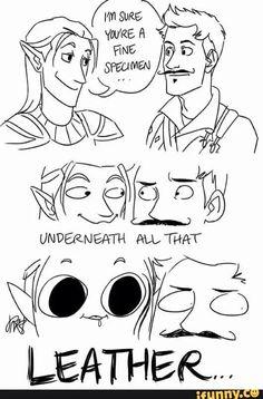 Zevran and Dorian