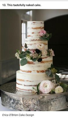 Cake Part 1 - Top 2 tiers as the top 2 tiers of this cake.