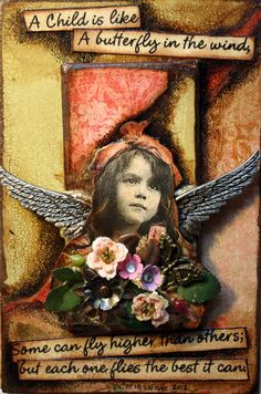 """~ """"Tattered Angel"""" by Victoria's Art Visions ~"""