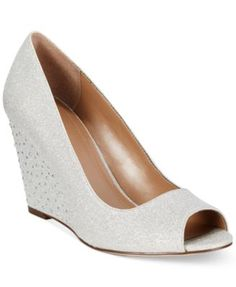 Style&co. Cecelie Evening Wedge Pumps  They also come in Navy @lynnagatha5810