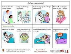 La salud, las medicinas, el médico (ficha)