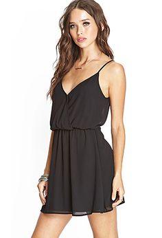 Surplice Cami Dress | FOREVER21 - 2000068022
