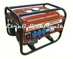 GENERATOR Modell 2013  Professional Generator KM 6500 W 4-Takt-Motor BENZIN  NEU