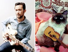 Attractive Men and Their Cat Doppelgangers | Friday Funnies