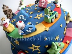 Super Mario Wedding Cake Mario Kart Tier
