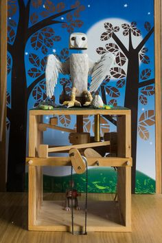 Retrouvius Reclamation and Design Coin operated automata made for The Natural History Museum. Fully operational. DimensionsW 600mm, D 600mm, H 1560 Price£2,950+vat