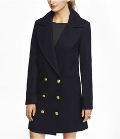 DROP DOUBLE BREASTED COAT Style: 8942416