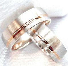 Wunderschöner schlichter Ehering aus Sterling Silber Trauring