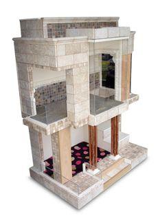Cool Dog Houses | The Dog Designer Luxury Dog House - Doggie Mansion