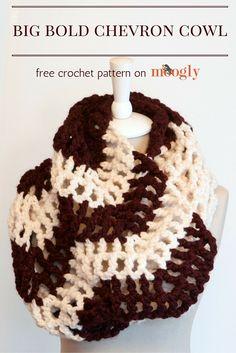 Free chunky scarf crochet pattern