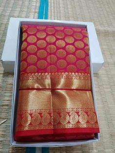 Brocade Saree, Kanjivaram Sarees Silk, Tussar Silk Saree, Kanchipuram Saree, Pure Silk Sarees, Red Saree, Chiffon Saree Party Wear, Bridal Silk Saree, Saree Wedding