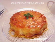 FLANES PARA NAVIDAD | Cocinar en casa es facilisimo.com - flan de manzanas