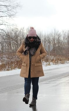 Bundled up topped in pink ⋆ chic everywherechic everywhere