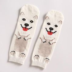 Responsible Adult Size Crew Socks Unisex Pet Short Puppy Doberman Corgi Dachshund Sausage Dog Pug Doge Papillon Collie Husky Schnauzer New Socks Underwear & Sleepwears