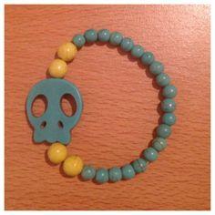 Lila & Sirena: DIY | Skull Bracelet