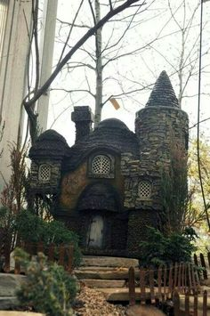 Fairytale abodes 15 tiny storybook cottages more for Witches cottage house plans