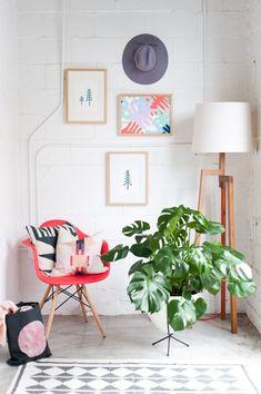 DIY artwork for any home #diy #wallart #framedart