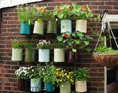 Licht und frische Luft werden dir Freiheit für deine Kreativität geben. Hier findest du Ideen für einen kleinen Hausgarten auf dem Balkon.