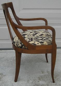 I have to have these chairs! Have to.   Set of Ten Regency style Dining Chairs by Kindel image 4