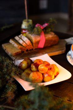 Joulun ihanat karamelliperunat joulupöytään