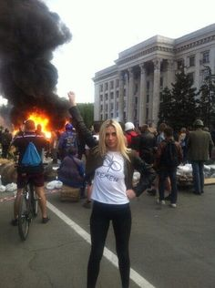 """Fake """"Feminists"""" of Femen Participated in the Odessa Massacre : Indybay Ukraine, Nuclear Engineering, We Are All Connected, France, Strike A Pose, Current Events, Climate Change, Poses, This Or That Questions"""