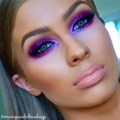 "3,911 Likes, 52 Comments - Brian Champagne (@brian_champagne) on Instagram: "" beautiful purples love @moniqueabelmakeup @moniqueabelmakeup #moniqueabelmakeup #inspiresMe…"""
