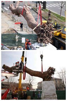 Quando un'opera è... monumentale! / When an artwork is... monumental!  #GiuseppePenone pic.twitter.com/f21Sdc8z4l #MuseumWeek #DayInTheLife