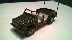 siku 1332 vw 181 army car R11 wheels production ----