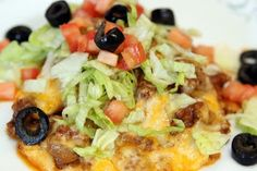 Quick Taco Casserole-Angel in the Kitchen: tacos