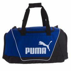 Me encanta! Miralo! Maletin Puma Fundamentals Sports Bag M Azul-Negro  de Puma en Dafiti