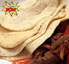 Low-Carb Protein Tortillas - with Steak Fajitas
