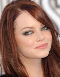 Emma Stone (III) biography, pictures, credits,quotes and more. Emma Stone is not only an excellent television actor, but also a br. Celebrity Hairstyles, Hairstyles With Bangs, Pretty Hairstyles, Straight Hairstyles, Ombré Hair, Dye My Hair, Her Hair, Hair Cut, Redhead Makeup
