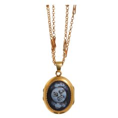 1stdibs - French Mid 19th Century Man In The Moon Cameo Locket explore items from 1,700  global dealers at 1stdibs.com