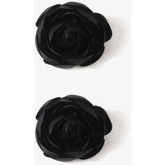 FOREVER 21 Rosette Hair Clip Set ($2.80) ❤ liked on Polyvore