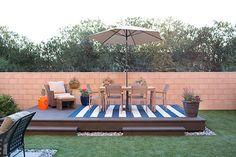 Cool Backyard Deck Design Idea 5