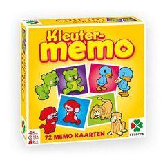 Ontdek de leukste dieren in dit spel memo speciaal voor kleuters. Draai de kaartjes met de afbeeldingen van de dieren om en vind een paar. Verzamel zoveel mogelijk setjes en wordt de winnaar van dit populaire spel! Het spel bevat 72 kaartjes en is geschikt voor 2 tot 4 spelers vanaf 4 jaar. Afmeting:verpakking 22 x 22 x 5 cm. - Kleuter Memo