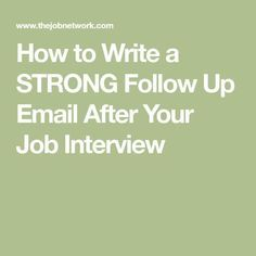 Career Bureau - Power Career Tips & Job Interviews Tactics Thank You After Interview, Interview Follow Up Email, Letter After Interview, Job Interview Questions, Job Interview Tips, Job Interviews, Interview Attire, Email Writing, Letter Writing